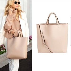 Jules Kae Rachel Zoe Vegan Leather Large Tote Bag